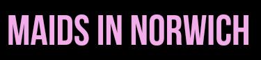 MAIDS IN NORWICH Logo